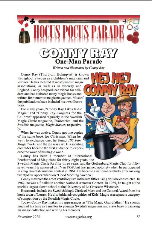 IBM Parade Conny Ray