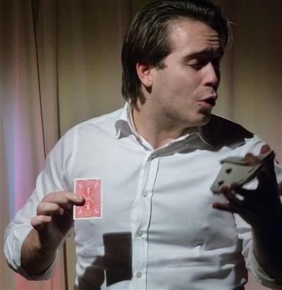 Seth Engström kortens mästare i entrickstävlingen