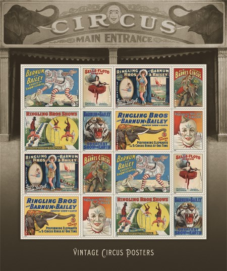 14-Circus-VintagePostersSheet