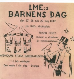 19490527--29 Barnens Dag fest