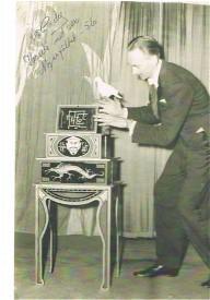 Pappa på nöjesfältet 1956