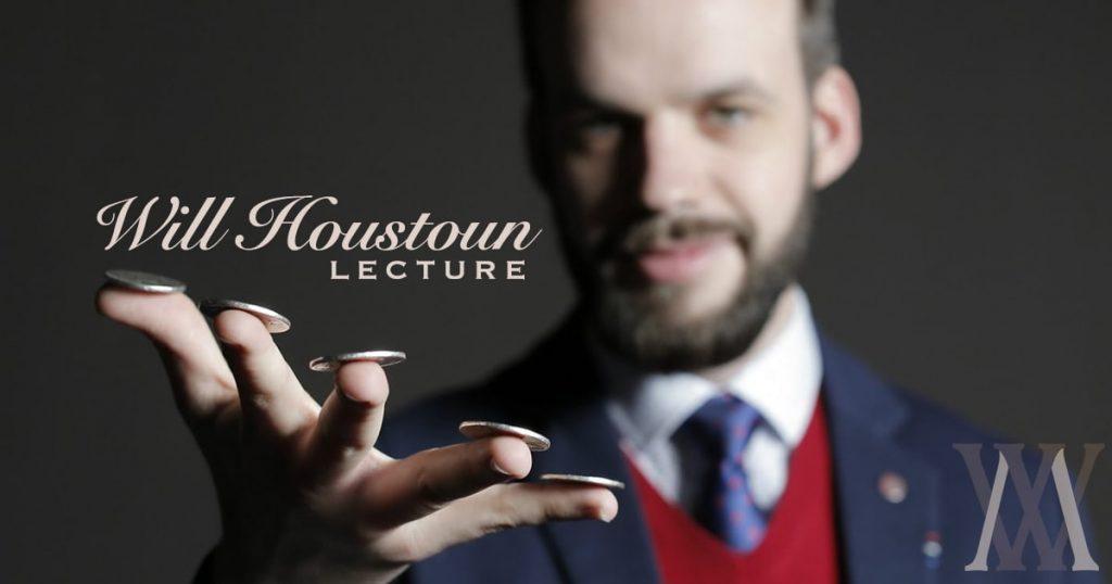 Will Houstoun trollar med mynt